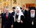 Состоялся торжественный прием по случаю визита Святейшего Патриарха Кирилла в Албанскую Православную Церковь