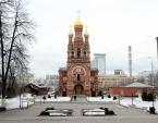 В канун среды Страстной седмицы Святейший Патриарх Кирилл принял участие в вечернем богослужении в Алексеевском ставропигиальном монастыре