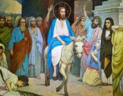 Народ хотел воевать, а тут Иисус на ослике едет весь в белом
