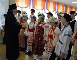 Архиепископ Полоцкий Феодосий благословил юных участников концерта «Свет пасхальной свечи»