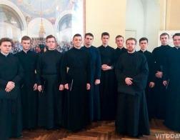 Хор студентов Витебской духовной семинарии стал лауреатом юбилейного конкурса-фестиваля хоров «Кирилл и Мефодий»