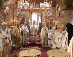 Началась ежегодная сессия Архиерейского Собора Сербской Православной Церкви