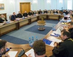 Патриарший Экзарх возглавил совещание по вопросу строящихся храмов Минской епархии