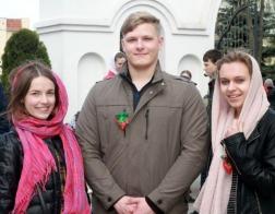 Слет православной молодежи «Здесь Родины моей начало» прошел в Поставах