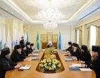 В Алма-Ате прошло заседание Синода Митрополичьего округа в Республике Казахстан