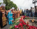 Предстоятель Украинской Православной Церкви принял участие в мероприятиях, посвященных Дню Победы