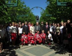 Председатель Синодального отдела Белорусской Православной Церкви по благотворительности принял участие в праздновании Международного дня Красного Креста