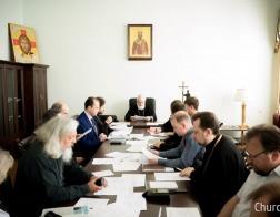Митрополит Павел возглавил заседание Ученого совета Минской духовной академии