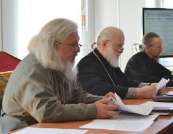 Патриарший Экзарх возглавил заседание Совета Института теологии БГУ