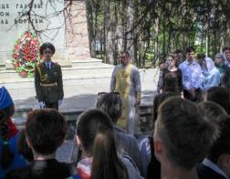 Клирик Минской епархии принял участие в акции, посвященной памяти молдавских воинов, погибших во время Великой Отечественной войны