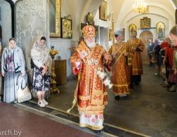 В канун Недели о слепом Патриарший Экзарх совершил всенощное бдение в Свято-Духовом кафедральном соборе города Минска