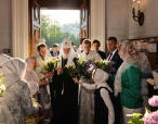 В канун праздника Вознесения Господня Святейший Патриарх Кирилл совершил всенощное бдение в московском храме «Большое Вознесение» у Никитских ворот