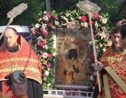 В Москву принесена Феодоровская икона Божией Матери
