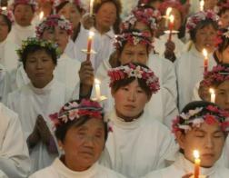 В Китае торжественно открыт памятник мученику, канонизированному в 2000 году