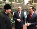 Представители Русской Православной Церкви приняли участие в церемонии открытия выставки документов к 50-летию российско-сингапурских дипломатических связей