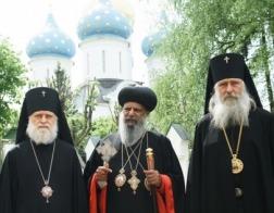 Завершился визит предстоятеля Эфиопской Церкви в Россию