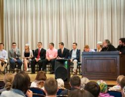 Представители православной молодежи из Беларуси и США встретились за круглым столом