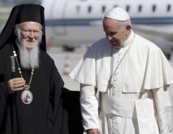 Патриарх Константинопольский Варфоломей отбыл в Рим для встречи с Папой Франциском