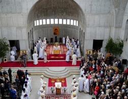 В строящемся соборе Святой Софии в Варшаве совершена первая Литургия