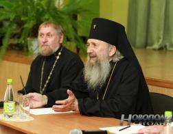 Архиепископ Полоцкий Феодосий встретился с педагогами и учащимися Боровухской школы