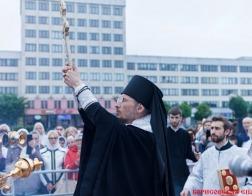 В течение трех дней в Борисове пребывал Крест Евфросинии Полоцкой