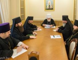 Состоялось заседание Архиерейского совета Минской митрополии