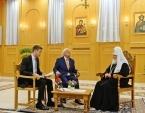 Интервью Святейшего Патриарха Кирилла Албанской государственной телерадиокомпании