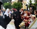 Святейший Патриарх Кирилл посетил Свято-Воскресенскую духовную академию Албанской Православной Церкви