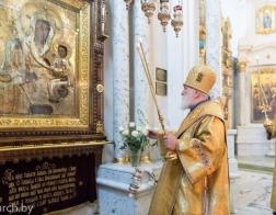 В праздник Всех святых митрополит Павел совершил Литургию в Свято-Духовом кафедральном соборе города Минска