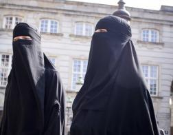 Дания запретила публичное ношение бурки и никаба