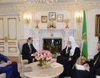 Святейший Патриарх Кирилл встретился с послом Португалии в России