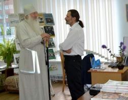 Пинск посетил православный этнограф из Польши Дорофей Фионик