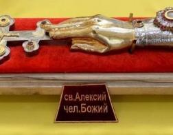 Киевский приход передаст в дар Житомире мощи святого Алексия, человека Божия