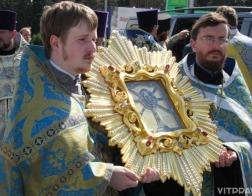 Чтимая копия чудотворной иконы Божией Матери «Жировичская» прибыла в Оршу
