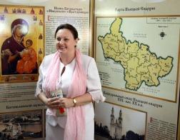В полоцком кинотеатре «Родина» работает выставка «Летопись Полоцкой епархии»