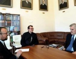 Проректор Института теологии БГУ принял участие в круглом столе в Санкт-Петербурге