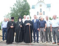 Состоялся визит Патриаршего Экзарха в Могилевскую епархию