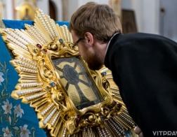 Копия Жировичской иконы Божией Матери прибыла в Витебск