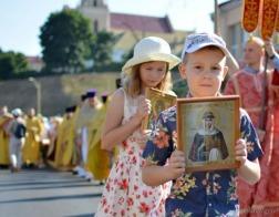 Крестный ход в честь Собора Белорусских святых прошел в Гродно