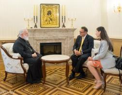 Состоялась встреча митрополита Павла с Послом Австрии в Беларуси
