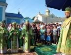 В день памяти блаженной Агафии митрополит Кишиневский Владимир совершил Литургию в Кушеловском Успенском женском монастыре