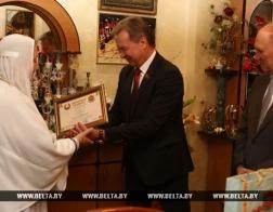 Игумения Гродненского Рождество-Богородичного монастыря награждена Почетной грамотой областного Совета депутатов