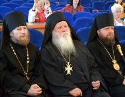 Состоялась встреча игумена афонского монастыря Ксенофонт с православной общественностью Лиды