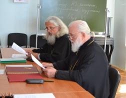 Митрополит Павел возглавил заседание Совета Института теологии БГУ