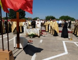 Патриарх Даниил заложил храм, который будет расположен в стенах Министерства обороны Румынии