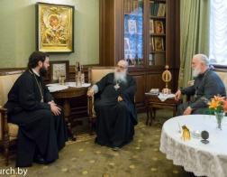 Минское епархиальное управление посетил архиепископ Венский и Будапештский Антоний