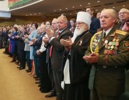 Патриарший Экзарх принял участие в торжественном собрании по случаю Дня Независимости Республики Беларусь