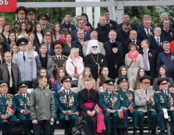 Митрополит Павел присутствовал на параде в честь Дня Независимости Республики Беларусь