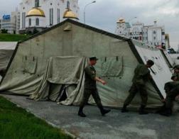 Палаточный городок для паломников откроется в центре Екатеринбурга в рамках