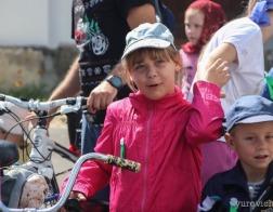 В Туровской епархии состоялся крестный ход на велосипедах